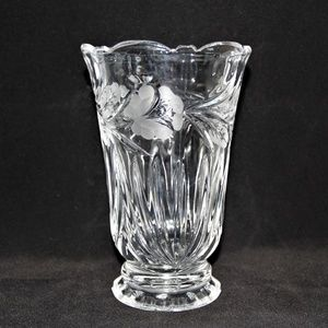 Other - Gorgeous 24% Lead Crystal Bouquet Vase